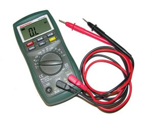 voltmeter device and its probes